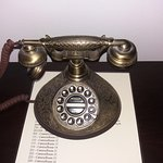 vintage meeting the modern (free local calls you will want to make just to use the phone)