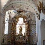 In the basilica