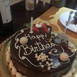 Hubby's birthday cake.