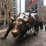 Photo of Charging Bull (Wall Street Bull)