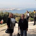 vue panoramique sur Antibes et la côte