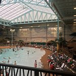 Water park and common areas at Kalahari