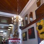 Interior of Geronimo's Coffee House