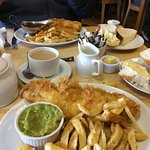Splendid fish and chips