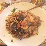 Seafood mix Spaghetti