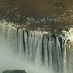 Victoria Falls, Zambia, from the helicopter