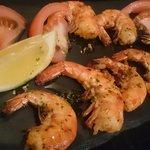 Gambas al Ajillo - Grilled prawns with garlic