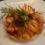 Pulpo a la Gallega - Octopus with paprika infused potato puree
