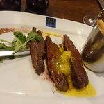 Flat Iron Steak with Fries