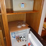 Mini Bar and Safe