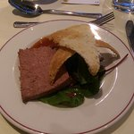 Wedding breakfast - pate option