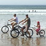 Bike Rentals available for riding on the beach...yippee