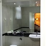 Updated plus very clean and spacious bathroom
