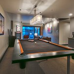 Pool tables are available in a number of our units!