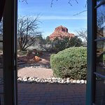 Bell Rock outside our back door.