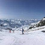 Ski slope and landscape