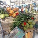 Bar installé sur la plage