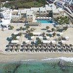 Branco Mykonos Aerial View