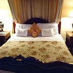 Absolutely 100 per cent perfect place to stay friendly staff and wonderful restaurant and surrou
