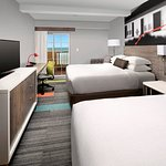 Oceanfront Guest Room with Two Queen Beds