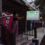 Jambel Jerk Pit - from the beach
