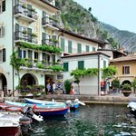 Ferry from Malcesine to Limone and Riva Foto