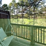 Back Deck with swing