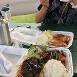Tunu fish and gril shrimp and steak