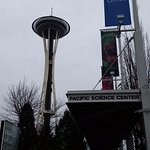 Pacific Science Center by Space Needle