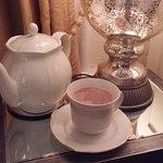 Pot of tea in bed
