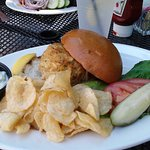 Classic Crab Cake Sandwich Is Always A Delight!