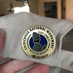 You can claim your pin (per person) at the visitors center after hiking a minimum of 5 miles.