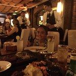 cena en familia, puerto madero cancun