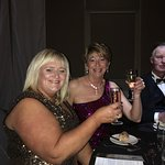 Hunt ball at the mere