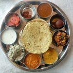 An usual but very fulfilling Thali