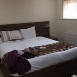 King size bed all clean before I arrived :-) was very comfy and a well sized room with en-suite