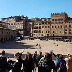 The plaza where the Palio horse race takes place