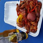 Friday crawfish boil is the bomb!