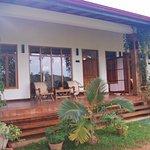 Front view of Mango Villas
