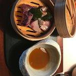 Pez mantequilla con caldo thai