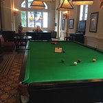 The colonial billiard table