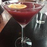 Blackberry Spice Martini