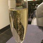 Coupe de champagne comprise dans le Menu Dégustation