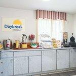 Enjoy our complimentary DayBreak breakfast