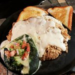 NEW: Grady's Chicken Fried Steak with pepper jack cheese relleno