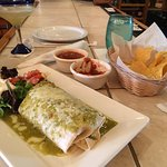 The BEST Margaritas on the island,great staff and excellent  California burritos. They have Pabl