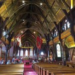 Interior of the Old St. Paul Church