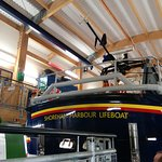 A view from the rear of RNLI ENID COLLETT