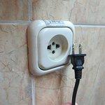 recessed plug
