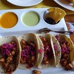 Mayan chicken tacos